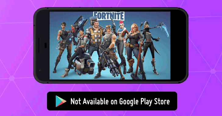 Fortnite mobile play store