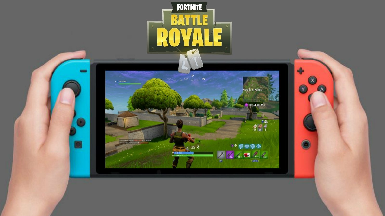 Fortnite epic games switch