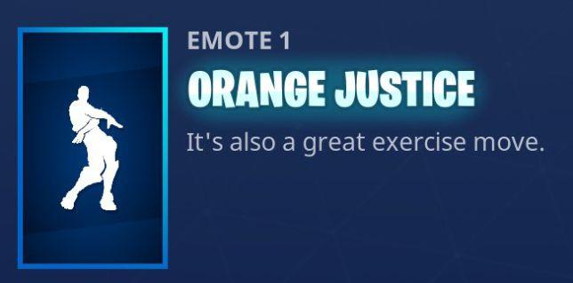 Fortnite boogie down contest orange shirt kid