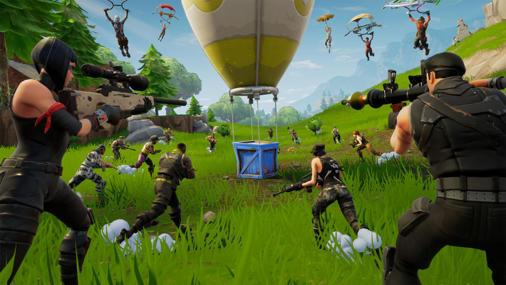 Fortnite battle royale game for android