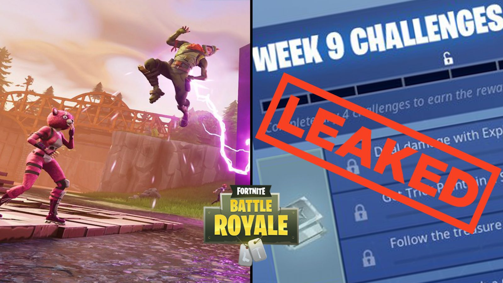 Fortnite tracker weekly challenges