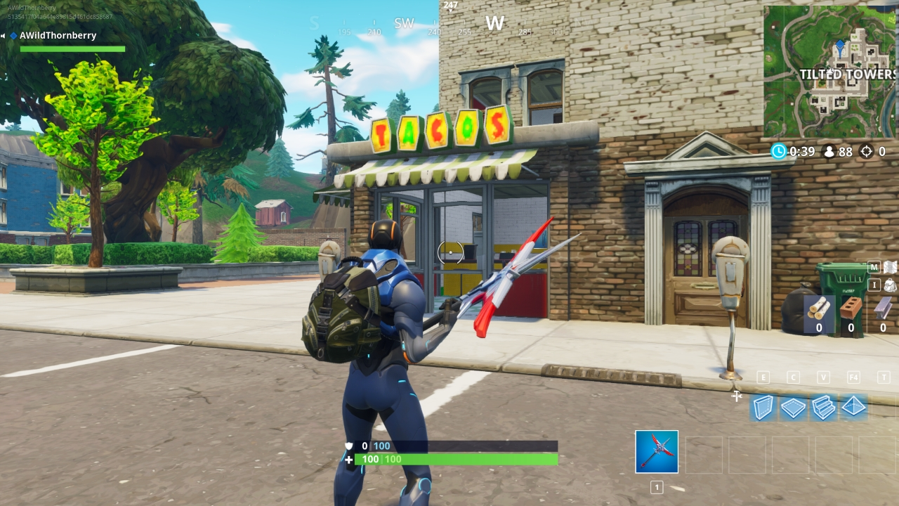 Fortnite taco shop quest