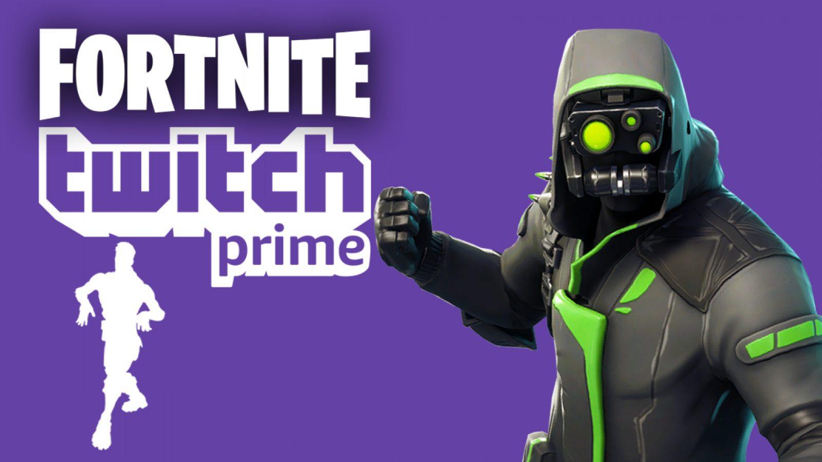 Fortnite skin on twitch
