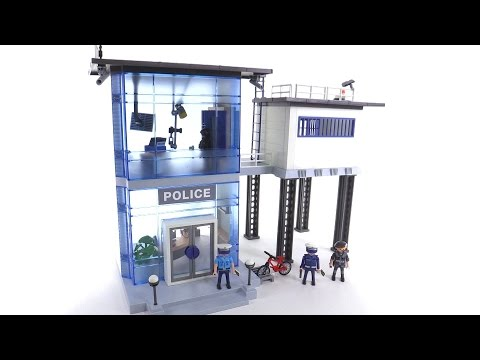 Playmobil police videos in english