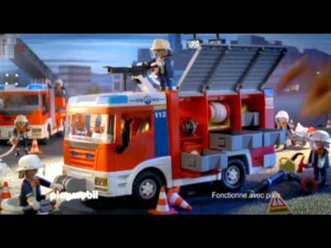 Playmobil camion de pompier 4821