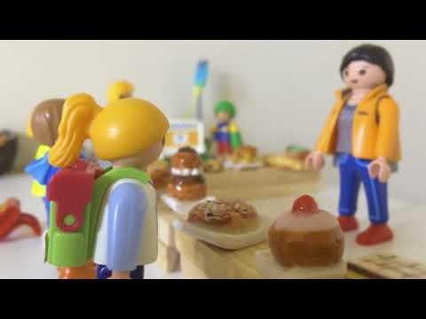 Video playmobil boulangerie