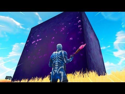 Fortnite cube intergalactique