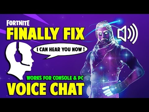 Fortnite cross platform party chat not working