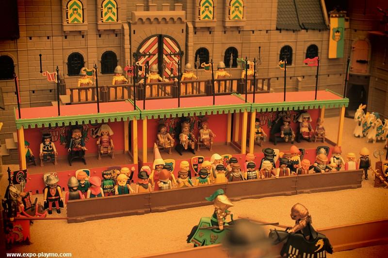 Diorama playmobil chateau fort