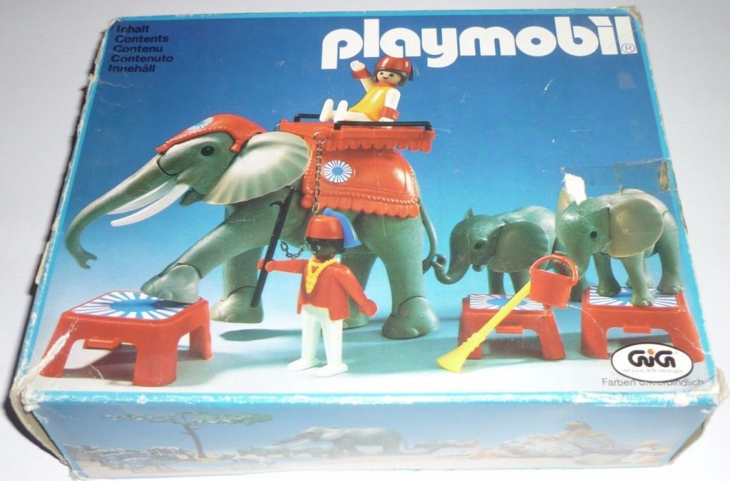 Playmobil cirque elephant