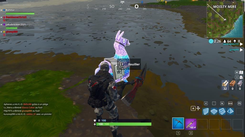 fortnite saison 5 ou sont les lamas - ou est le lama fortnite