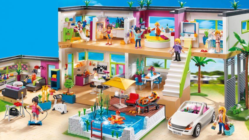Playmobil maison moderne vidéo