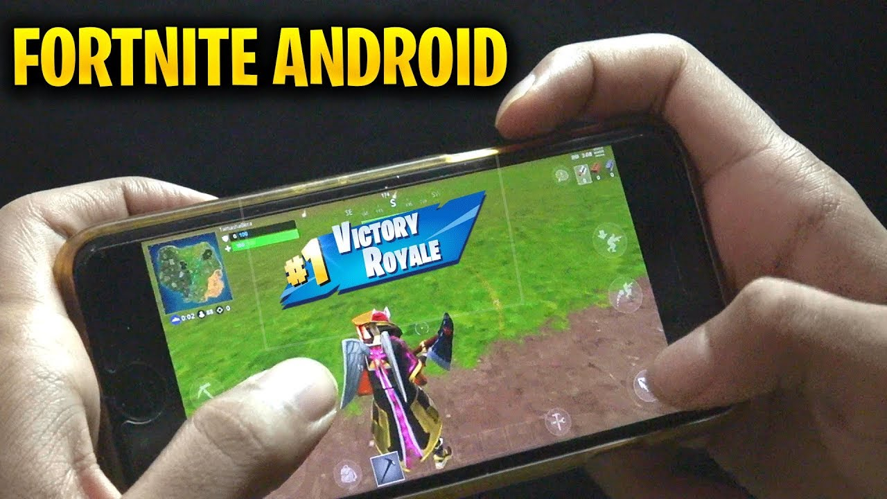 Fortnite android honor 8