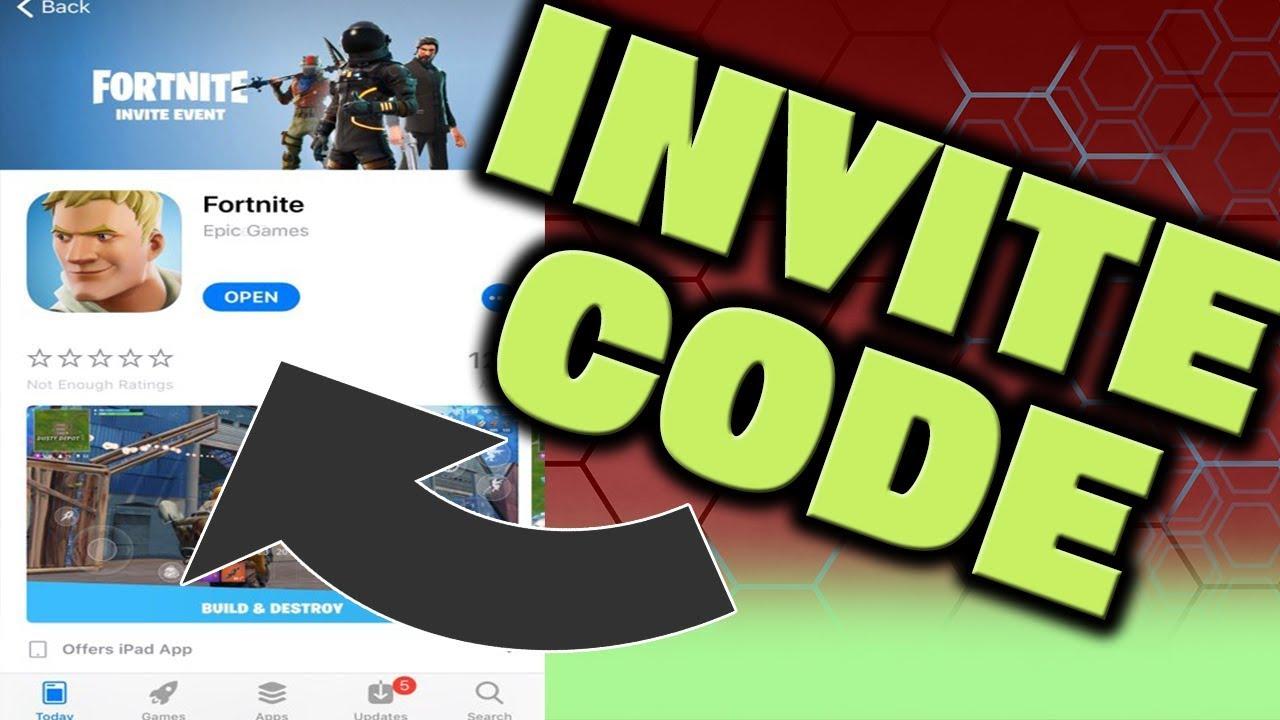 Fortnite android invite code - escapadeslegendes fr