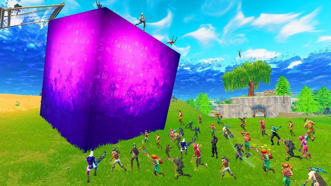Fortnite cube not moving