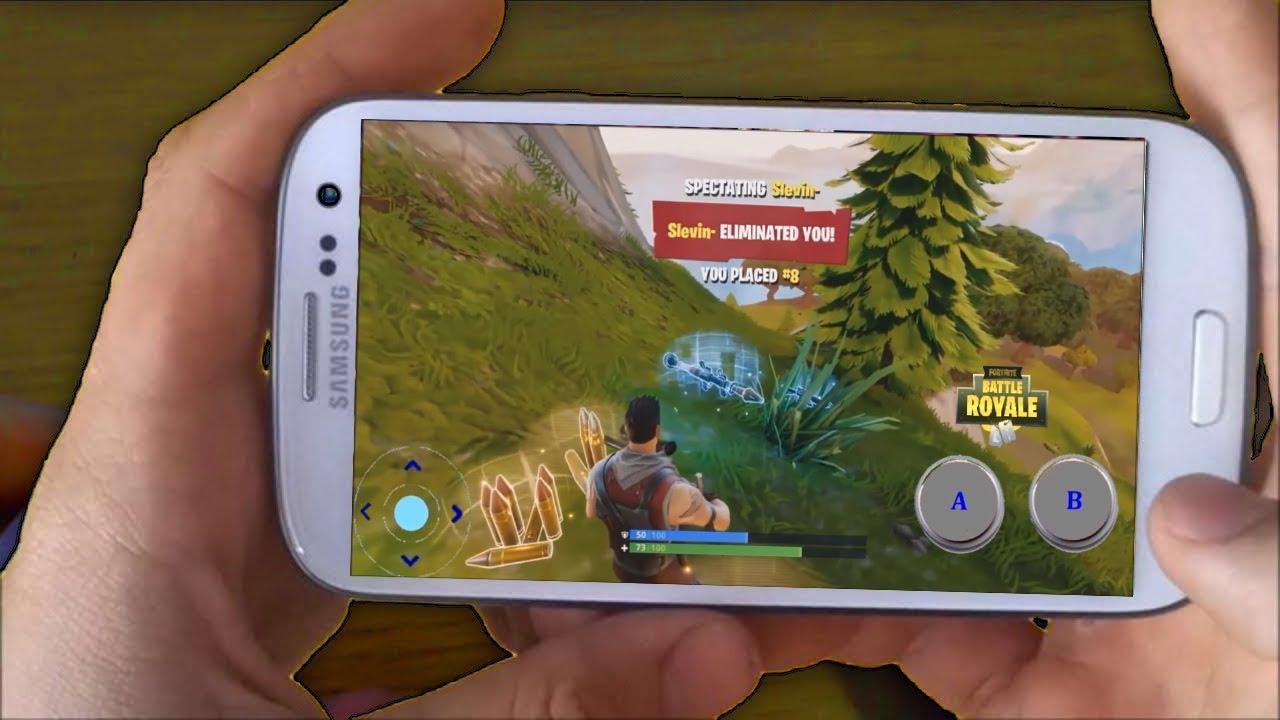 Fortnite android app descargar gratis