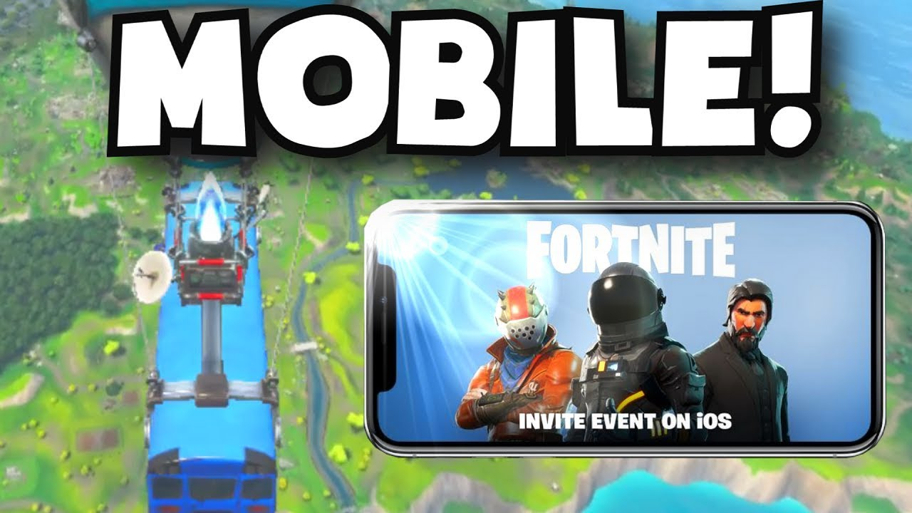 Fortnite mobile app beta