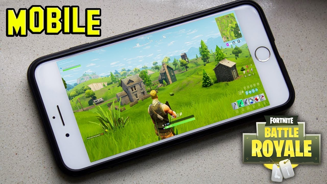 Fortnite a telecharger sur telephone