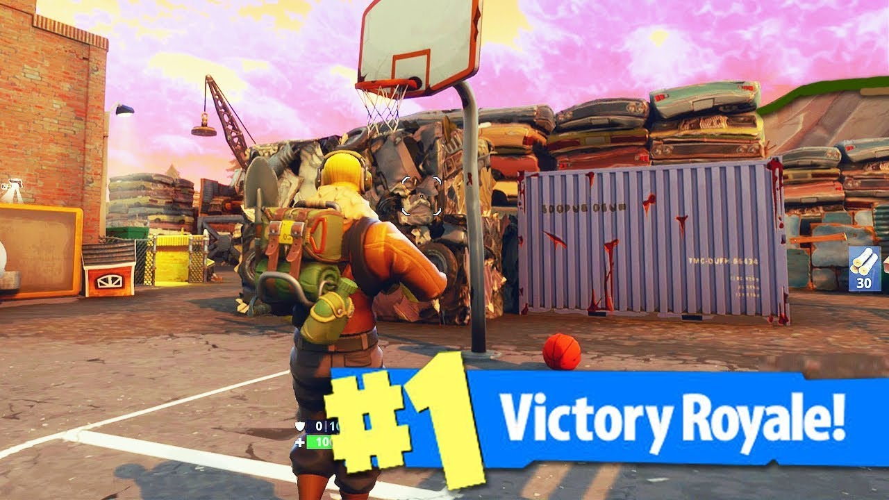 Fortnite all basketball fields