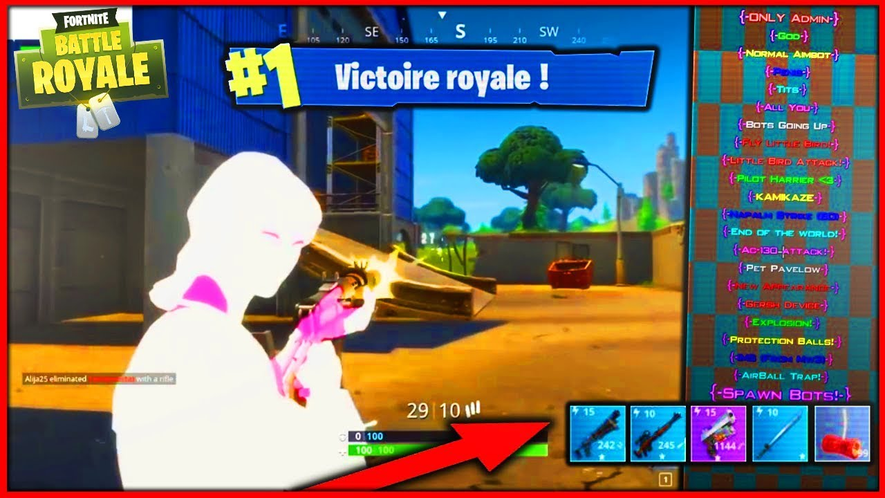 Cheats for fortnite battle royale on ps4