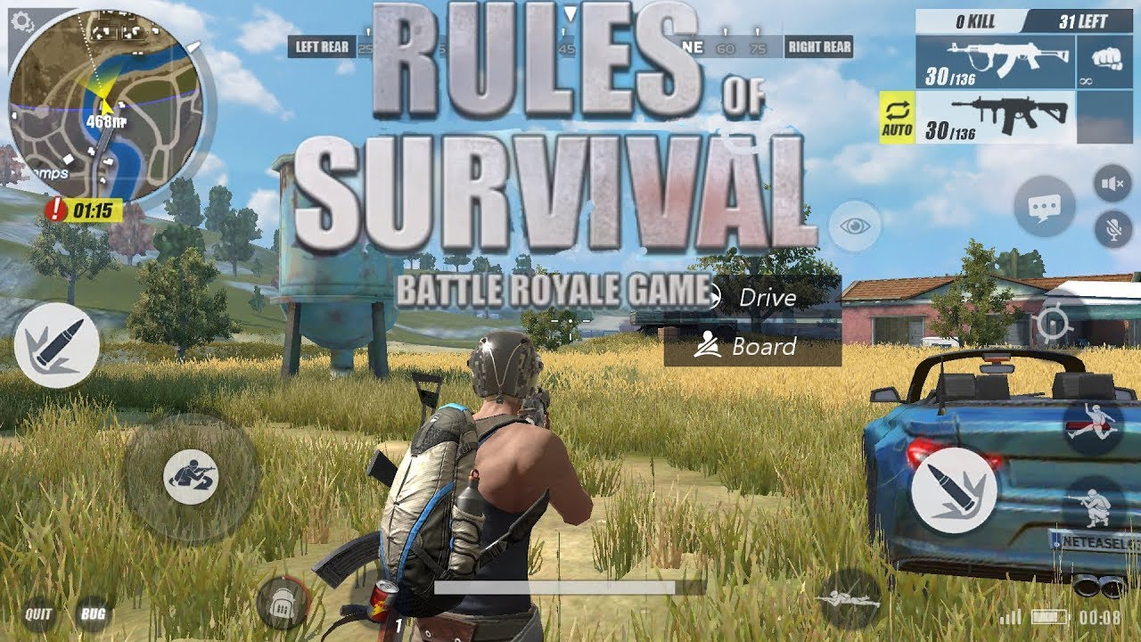 Fortnite battle royal on android