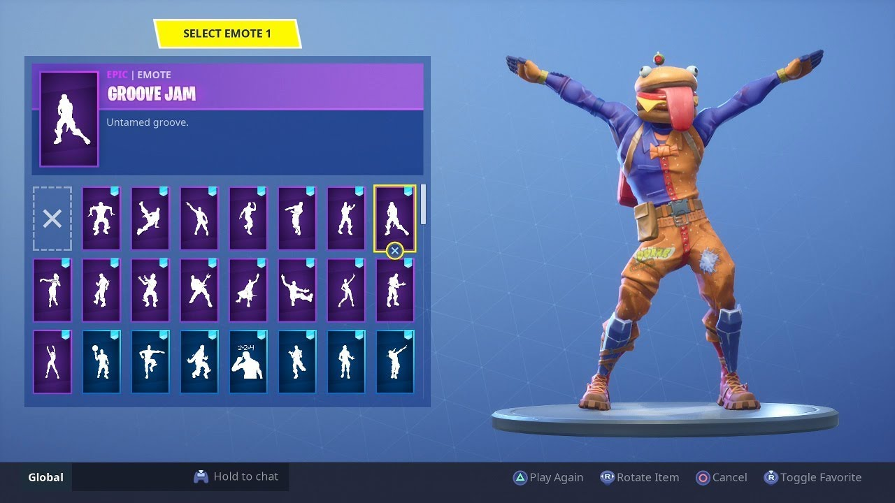 Fortnite burger outfit