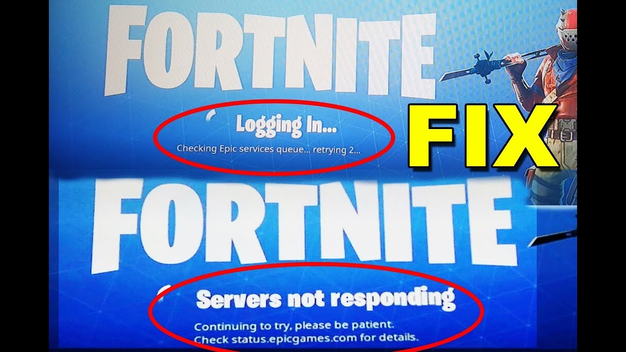 Fortnite epic services queue retrying