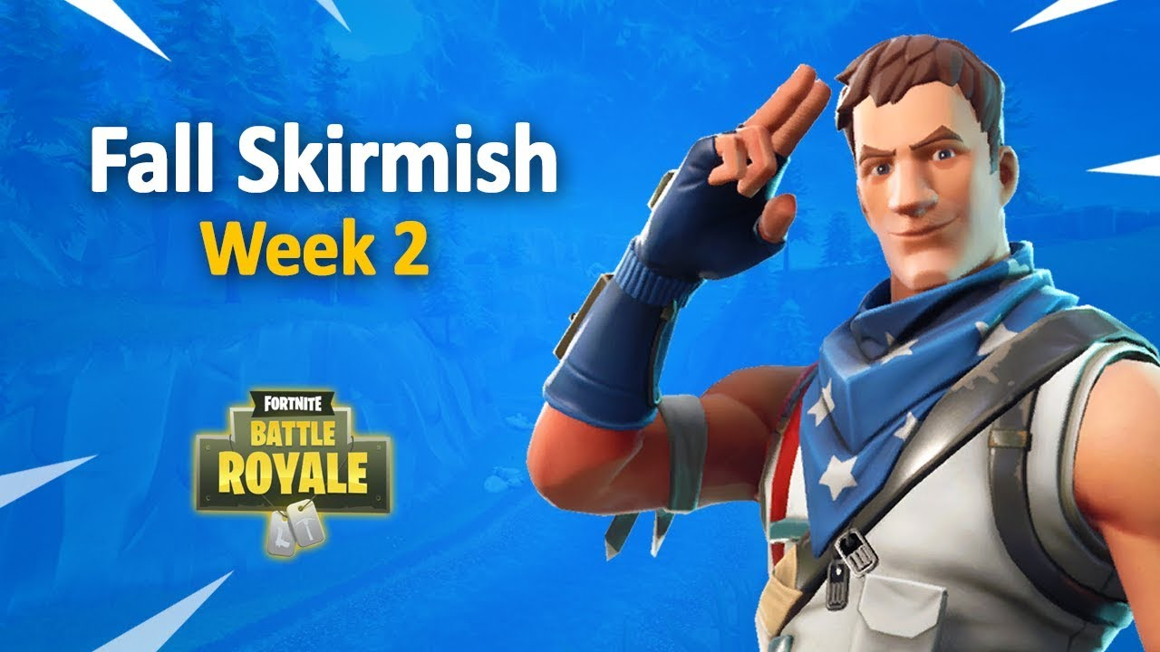 Fortnite fall skirmish team captains