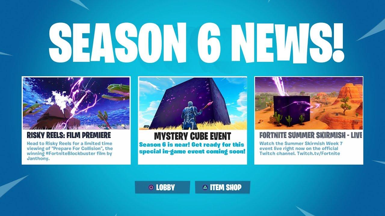 Fortnite season 6 the cube