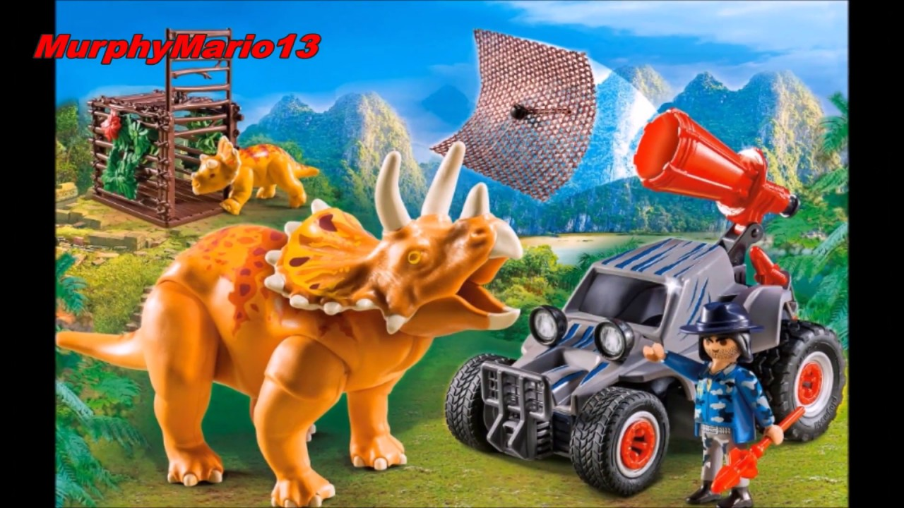Playmobil safari dinosaure