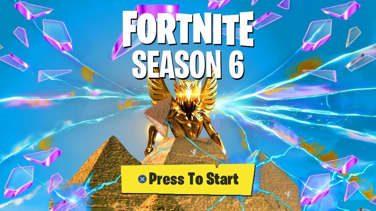 Fortnite saison 6 information