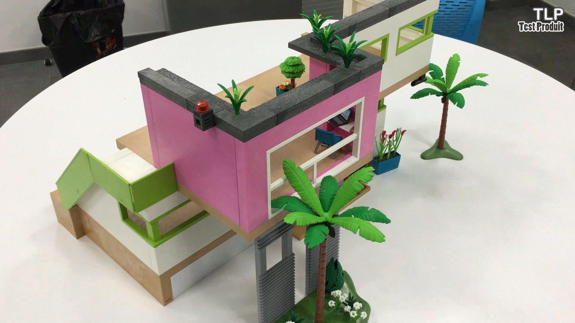 garage: Garage Playmobil Maison Moderne