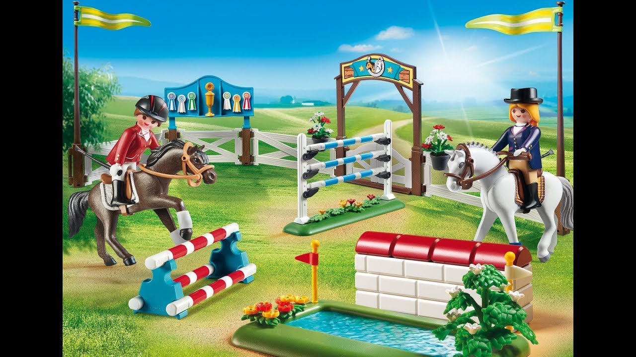 Playmobil chevaux collection