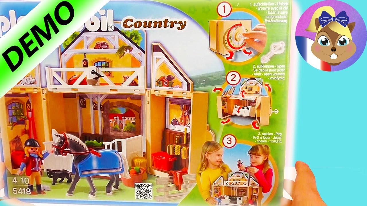 Playmobil cheval sulky