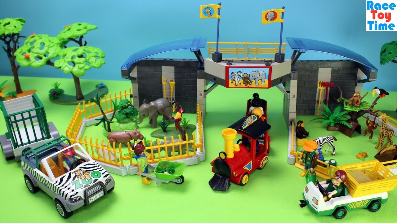 Playmobil zoo set uk