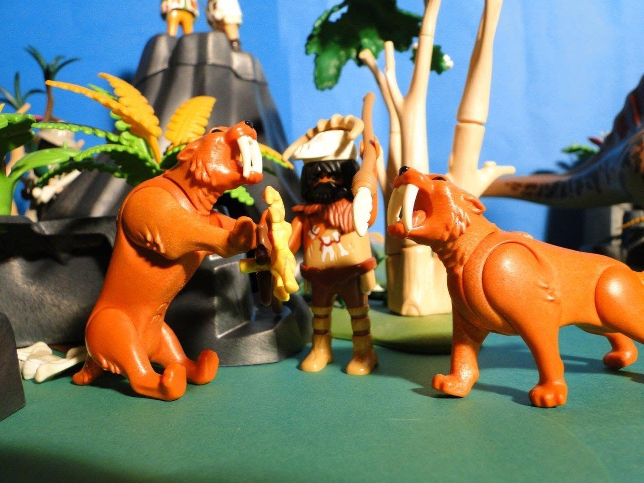 Playmobil animaux prehistorique
