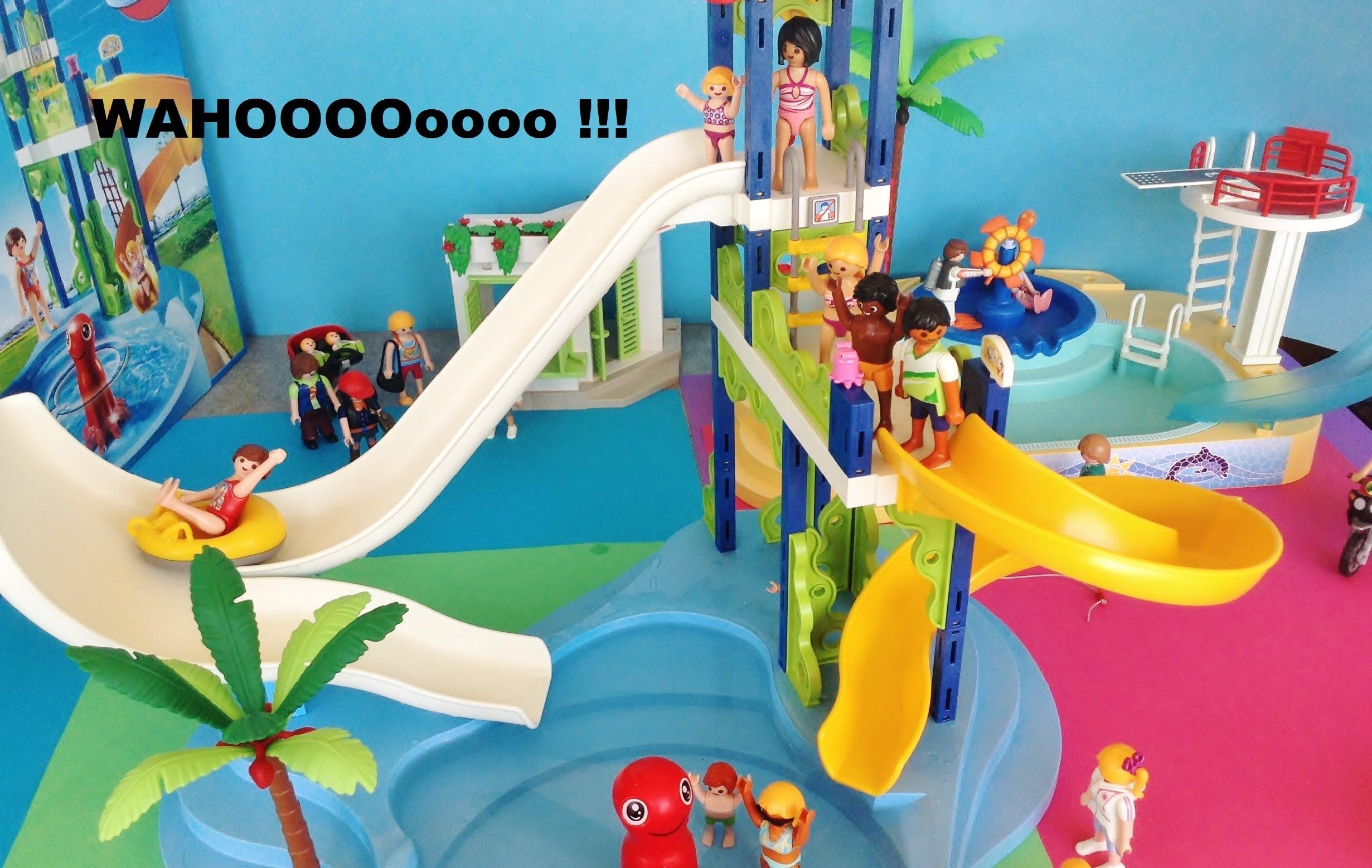 Playmobil jeux aquatique
