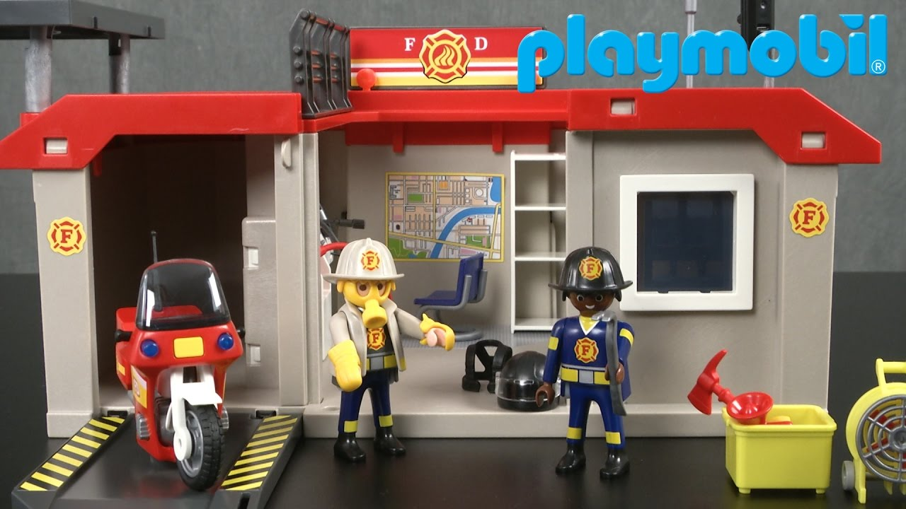 Playmobil city action fire station superset