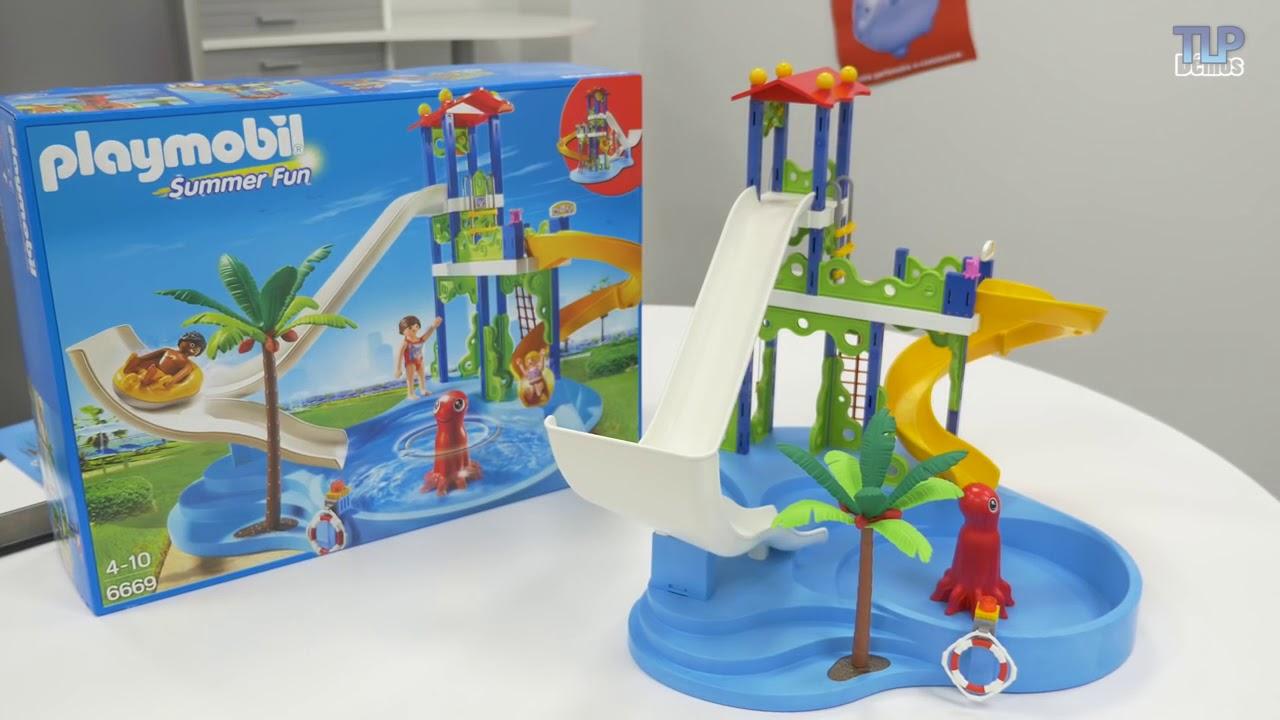 Notice playmobil centre aquatique