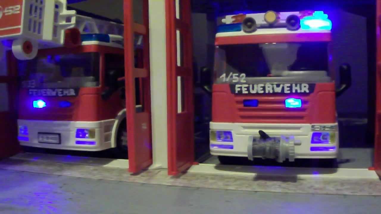 Playmobil feuerwehr bus