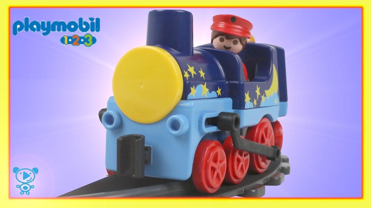 Playmobil bébé train