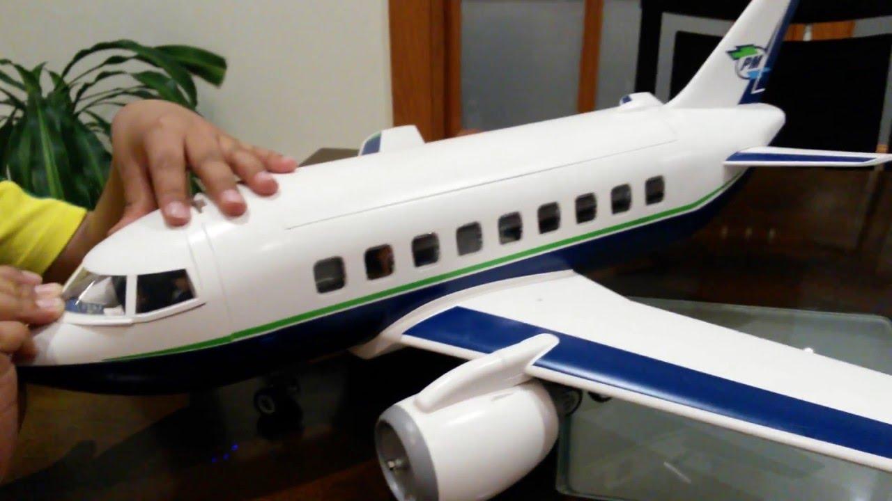 Playmobil city action - avión pasajeros y mercancías (5261)