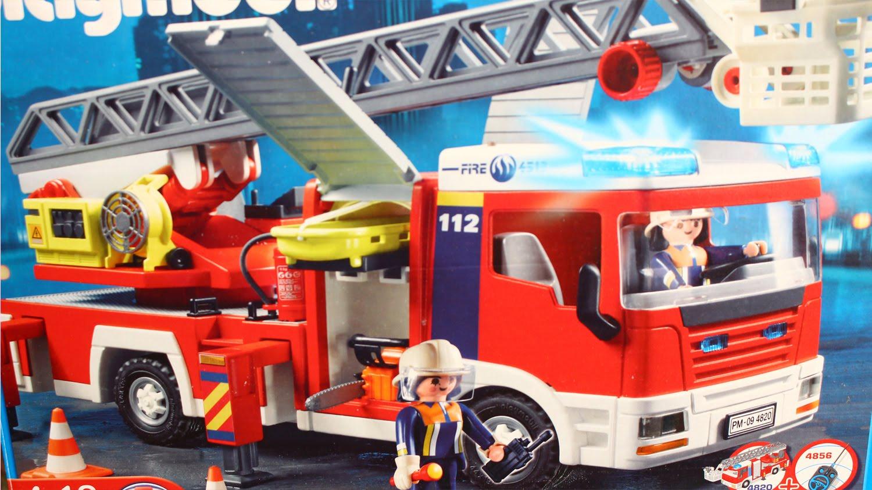 Playmobil city action wóz strażacki z drabiną 5362