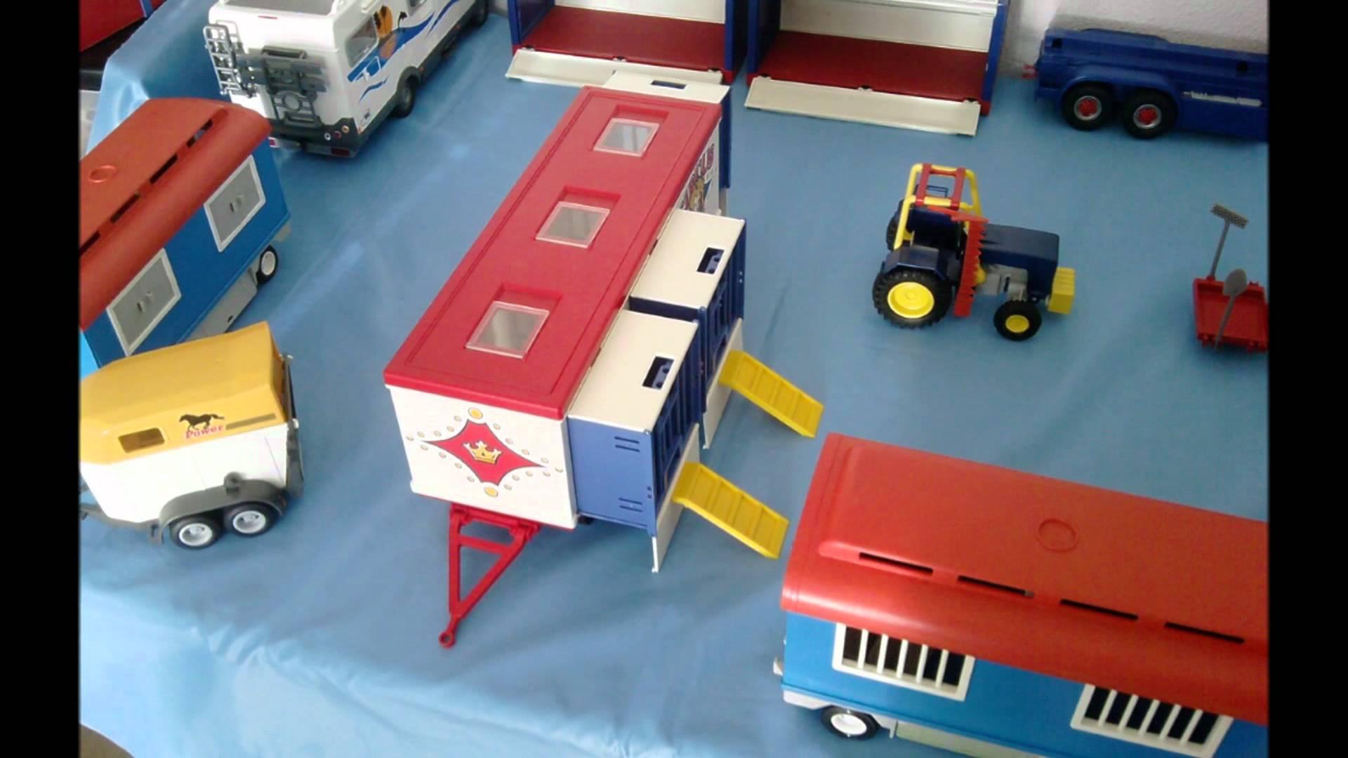 Playmobil cirque camion