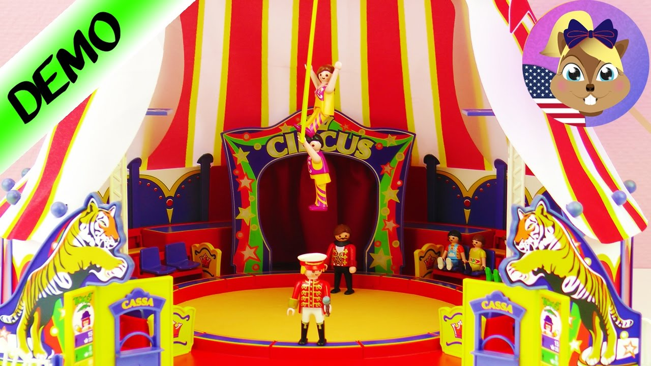 Playmobil grand cirque