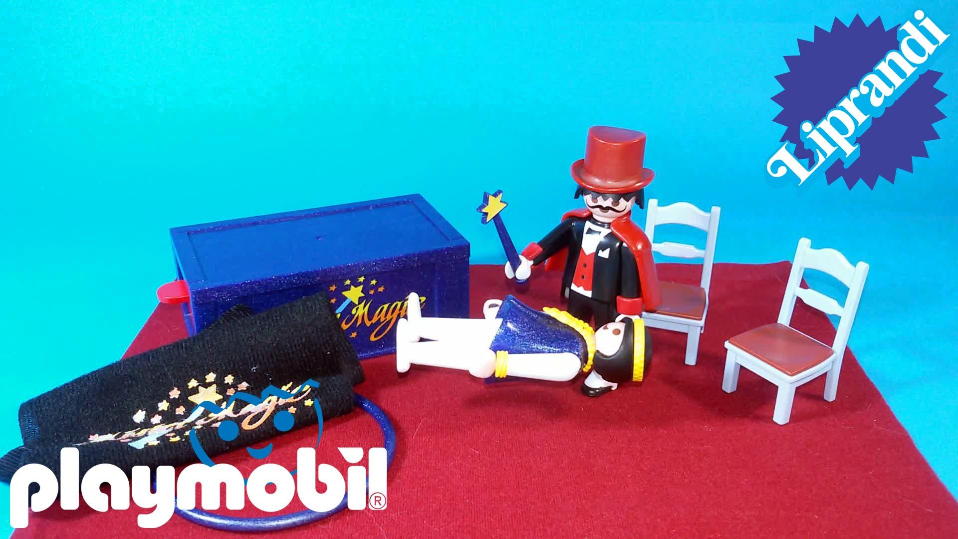 Playmobil magicien cirque