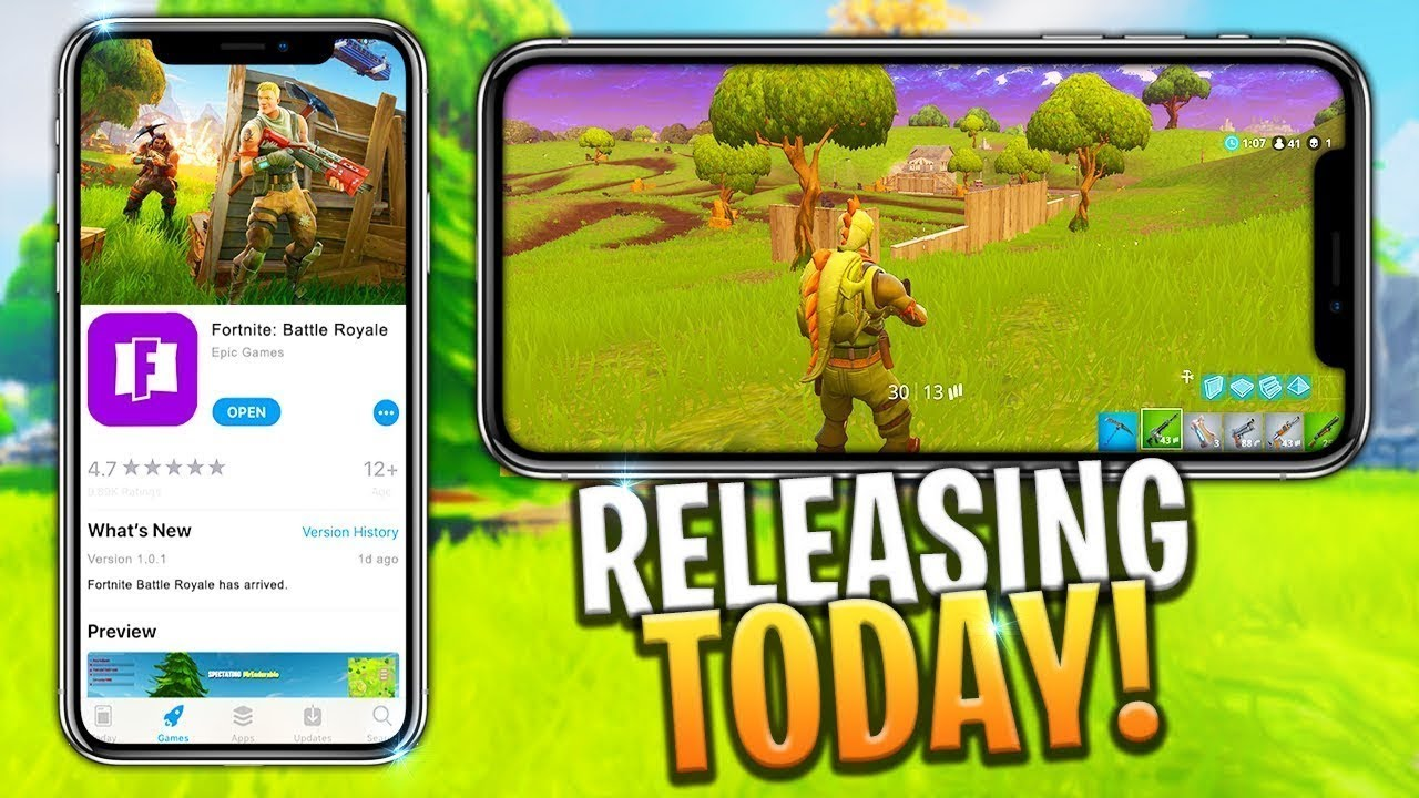 Fortnite epic games on ios