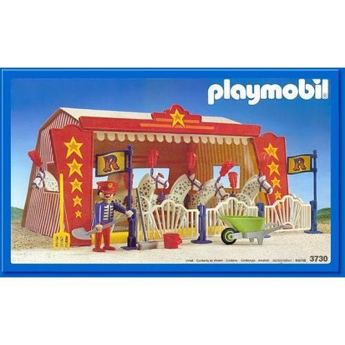 Playmobil le cirque clown