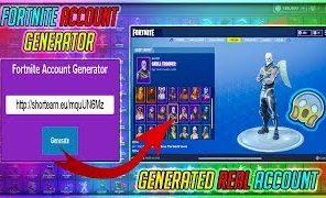 fortnite accounts generator