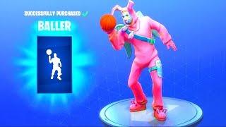 Fortnite emote basket